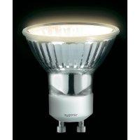 Halogenová žárovka Sygonix, 230 V, 20 W, GU10, Ø 50 mm, stmívatelná, teplá bílá