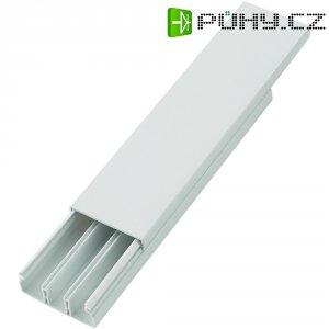 Elektroinstalační lišta, 50,8x20,3 mm, 2 m, 3 kabely, bílá