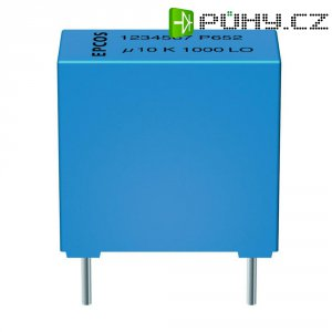 Foliový kondenzátor Epcos MKT B32529-C104-K, 0,1 uF, 63 V/DC, 10 %