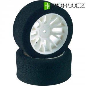 Silniční kolo pěnové Reely, 36 mm, Y paprsky, 12 mm 6-hran, 1:10, černá/bílá, 2 ks