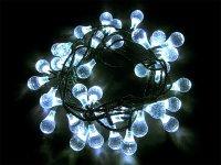 Vánoční osvětlení - kapka 4m IP44 denní světlo,40LED
