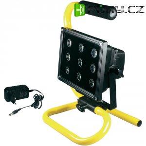 Akumulátorový pracovní LED reflektor 2000 97232, černá/žlutá