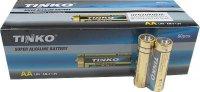 Baterie LR6 AA(R6) alkalická TINKO, balení 60ks