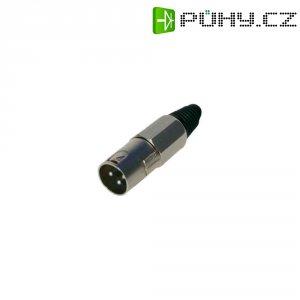Kabelový konektor kovový XLR (M)
