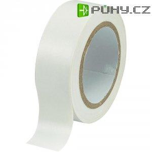Izolační páska, 19 mm x 25 m, bílá