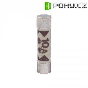 Jemná pojistka ESKA rychlá TDC180 2 A, 240 V, 2 A, keramická trubice, 6,4 mm x 25.4 mm