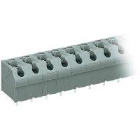 Pájecí svorkovnice série 250 WAGO 250-603, AWG 20-16, 0,4 - 0,8 mm², 7 mm, 2 A, šedá