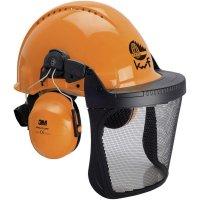 Lesnická ochranná helma 3M G3000M, XA007707368, oranžová