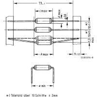 UKV tlumivka Epcos B82131A5301M 0.3 A, 500 V 1 ks