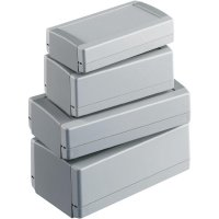 Plastová skříň TOPTEC OKW, (d x š x v) 123 x 68 x 30 mm, šedá (123 FI)