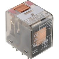 Miniaturní relé PT TE Connectivity 4-1419111-8, PT270524, 12 A, 440 V/AC 3000 VA
