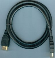 Kabel HDMI(A)-HDMI(A) 1m, kabel 7mm, DOPRODEJ