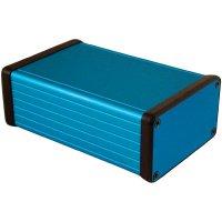 Univerzální pouzdro hliníkové Hammond Electronics, (d x š x v) 120 x 78 x 43 mm, modrá