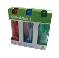 Sodastream láhev 1l TRIPACK Green/Red/Blue