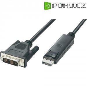 DVI-kabel DisplayPort zástrčka/zástrčka, černý, 18+1 pol., 1,7 m