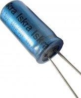 680u/50V 85° 13x29x5mm ISKRA, elektrolyt.kondenzátor radiální