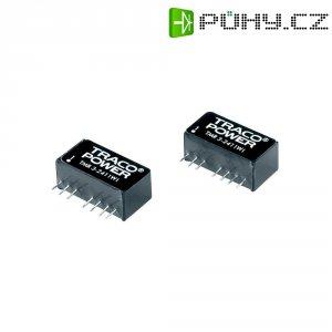 DC/DC měnič TracoPower TMR 3-2422WI, vstup 9 - 36 V/DC, výstup ±12 V/DC, ±125 mA, 3 W