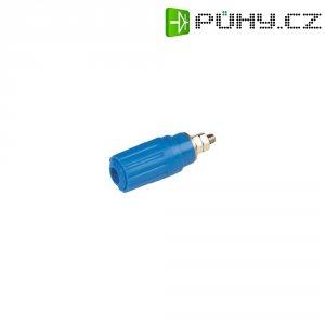 Pólová svorka SKS Hirsch PKI 100 (930757102), zásuvka vest., (Ø x d) 15 x 41,5 mm, modrá