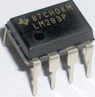 LM293P - 2x komparátor, DIP8