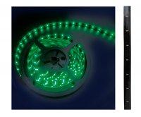 Led pásek samolepící zalitý zelený 12V šířka 10mm černé krytí