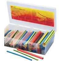 Smršťovací bužírky GTI box 2:1 (multicolor) 3M, 150 mm, 104 ks