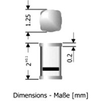 Dioda Diotec MCL 4148, 100 V, I(F) 150 mA
