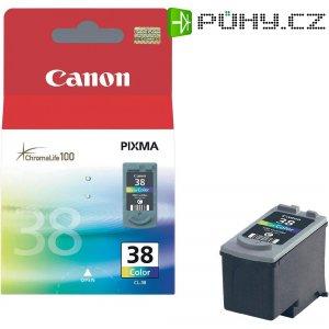 Cartridge Canon CL-38, 2146B001, žlutá/cyanová/magenta