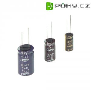 Kondenzátor elektrolytický Samwha BL2G106M10020PA, 10 µF, 400 V, 20 %, 20 x 10 mm
