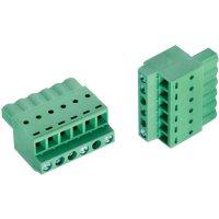 Svorkovnice Würth Elektronik 691373500006B, 300 V, 5,08 mm, zelená