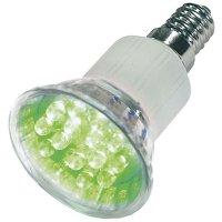 Žárovka LED E14/230V (20x) - zelená