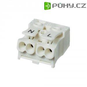 Svorka Adels-Contact, 041012, max. 2,5 mm², 2pólová, bílá