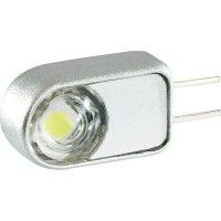LED žárovka G4, 0.8 W, studenábílá, stranová