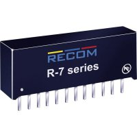 DC/DC měnič Recom R-745.0P (80099096), vstup 7 - 28 V/DC, výstup 5 V/DC, 4 A, 20 W