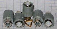 BNC konektor TGL200-3800 Au/Ag, balení 5ks DOPRODEJ