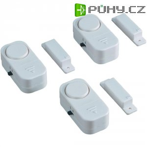 Dveřní/okenní alarm Smartwares SC07/3 74 dB, sada 3 ks