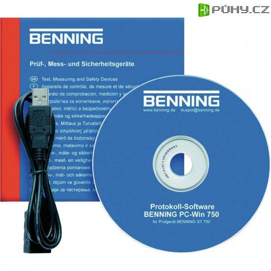 Software určený k měření Benning PC-Win ST 750 - Kliknutím na obrázek zavřete
