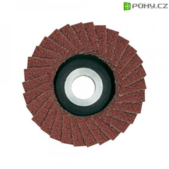 Lamelový brusný kotouč zkorundu pro LWS, Proxxon Micromot 28 590, Ø 50 mm, zrnitost 100 - Kliknutím na obrázek zavřete