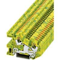 Svorka Push-in Phoenix Contact PITI 4-PE (3213964), s ochranným vodičem, 6,2 mm, zel/žlut