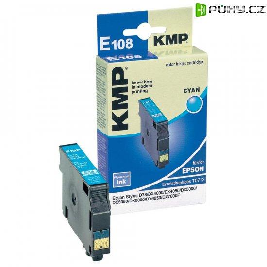 Toner KMP E108 1607,0003, pro tiskárny Epson, azurová - Kliknutím na obrázek zavřete