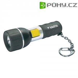 LED svítilna na klíčenku Varta, 16601, černá/stříbrná