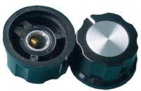 Přístrojový knoflík MF-A03 27x15mm, hřídel 6mm