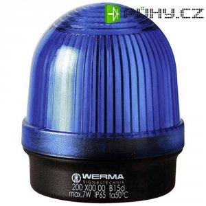 Trvalé osvětlení Werma Signaltechnik 200.500.00, 12 - 240 V / AC/DC, IP65, modrá