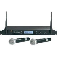 Sada bezdrátového mikrofonu Mc Crypt UHF-2032