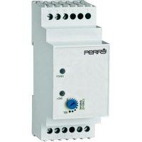 Hladinový senzor na DIN lištu Perry Electric 230 V 1CLRLE230/2, šedý
