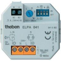 Schodišťový spínač na DIN lištu Theben ELPA 041, 10 A, 230 V, 0,5 - 20 min, 410002