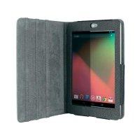 Pouzdro Trust Folio pro Google Nexus 7, černé/nastavitelné