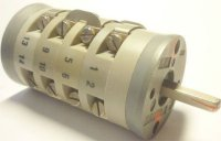 Vačkový spínač VS10 2801 A1, 10A/380V~, 10 poloh 30°