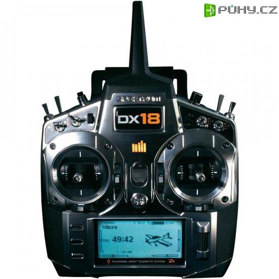 RC souprava pultová Spektrum DX18 Mode 1, 2,4 GHz, 18 kanálů - Kliknutím na obrázek zavřete
