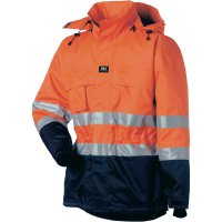 Reflexní bunda Helly Hansen Ludvika, 70373_265-XXL, vel. XXL, oranžová/modrá