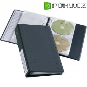 Pořadač na CD/DVD Durable 5204-58 pro 20 CD/DVD, antracitová